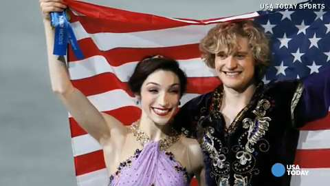 Meryl Davis, Charlie White win gold in ice dancing