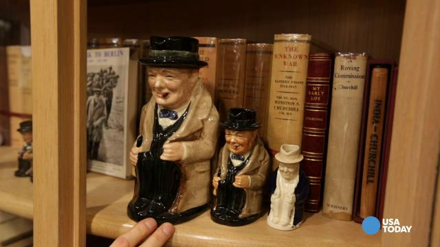Buy a $160K book at this Winston Churchill bookstore