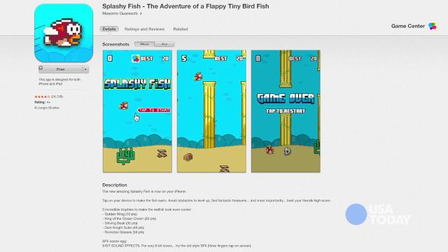 Splashy Fish a good substitute for Flappy Bird | Talking Tech