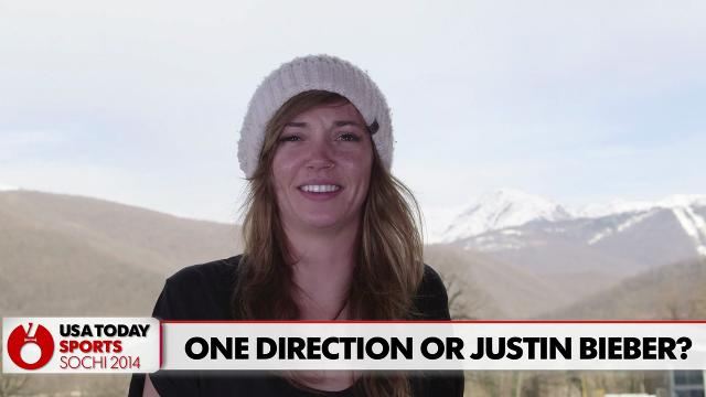 Bieber or One Direction? Olympians answer burning questions
