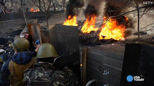 Ukraine violence, protests felt by relatives in U....