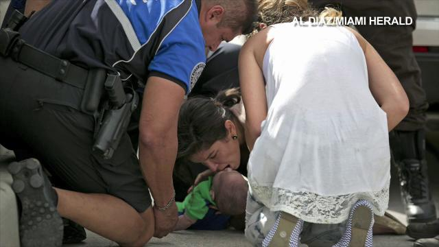 Photos capture Miami baby rescue | ZoomIN