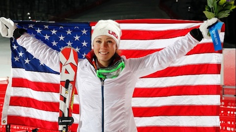 Shiffrin early candidate for 2018 Olympic spotlight