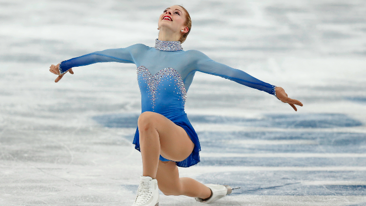 Gracie Gold talks about the Winter Games in Sochi and how she is looking forward to the next games.