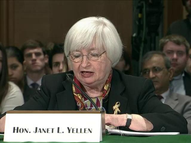 Yellen: US economy to improve at 'moderate pace'