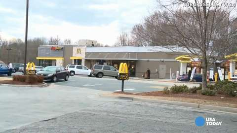 74-year-old attacked in fastfood restaurant