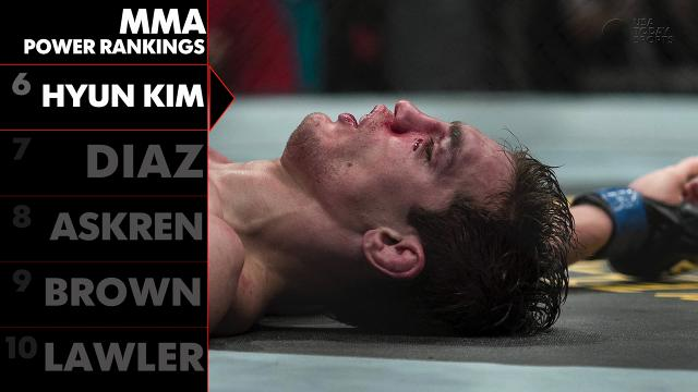 MMA Power Rankings: Hyun 'Stun Gun' Kim only involved In big fights