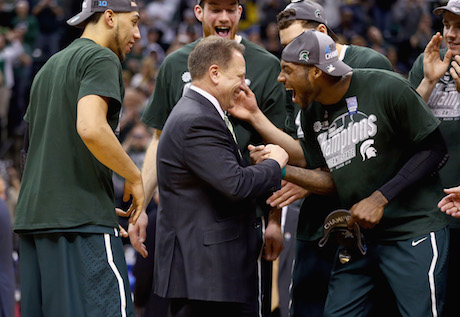 Big Ten tournament championship: Michigan State on top