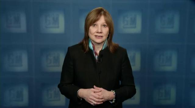 GM CEO Mary Barra's video update on recall