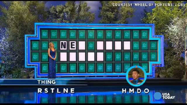 luckiest wheel of fortune answer