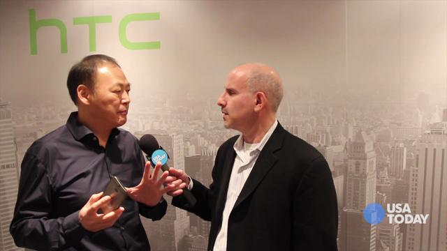 HTC CEO Peter Chou on the new HTC One: Baig