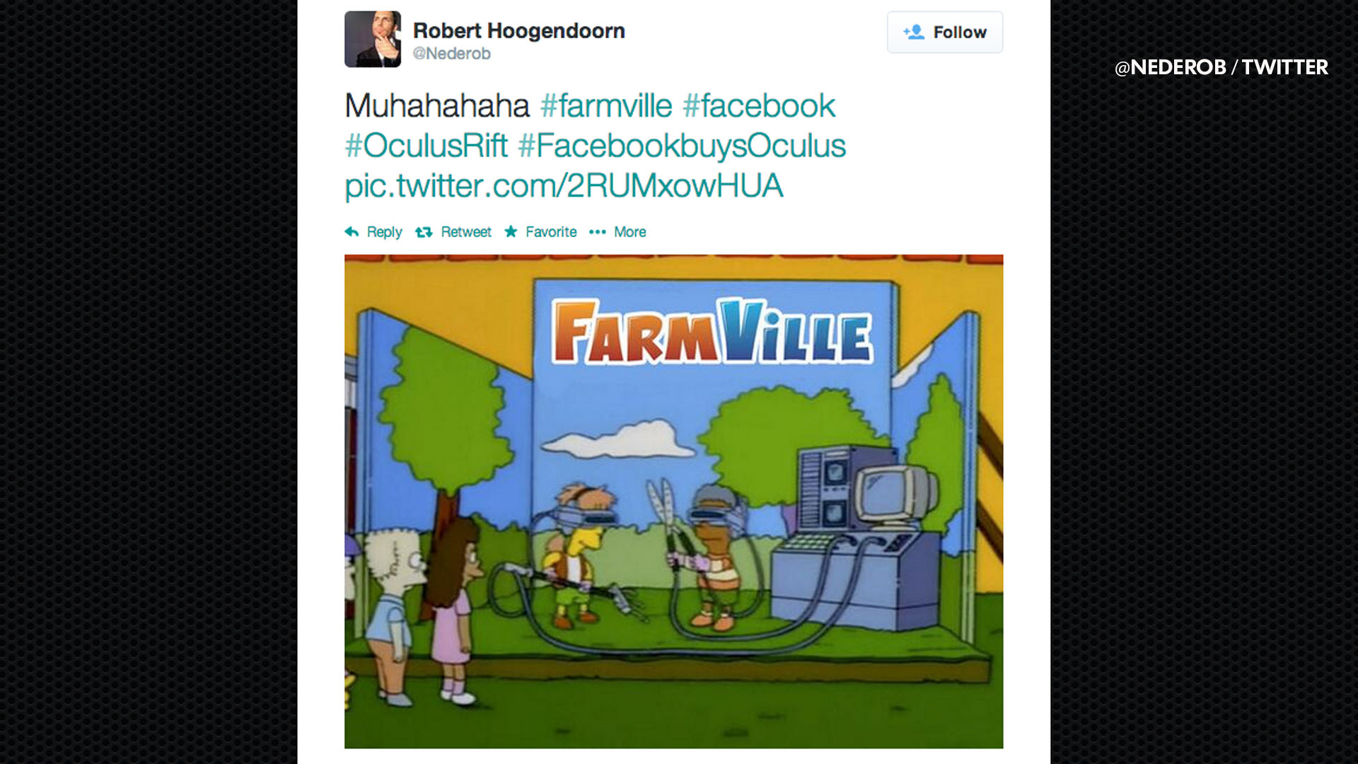 Facebook, Oculus jokes keep coming | SocialEyes