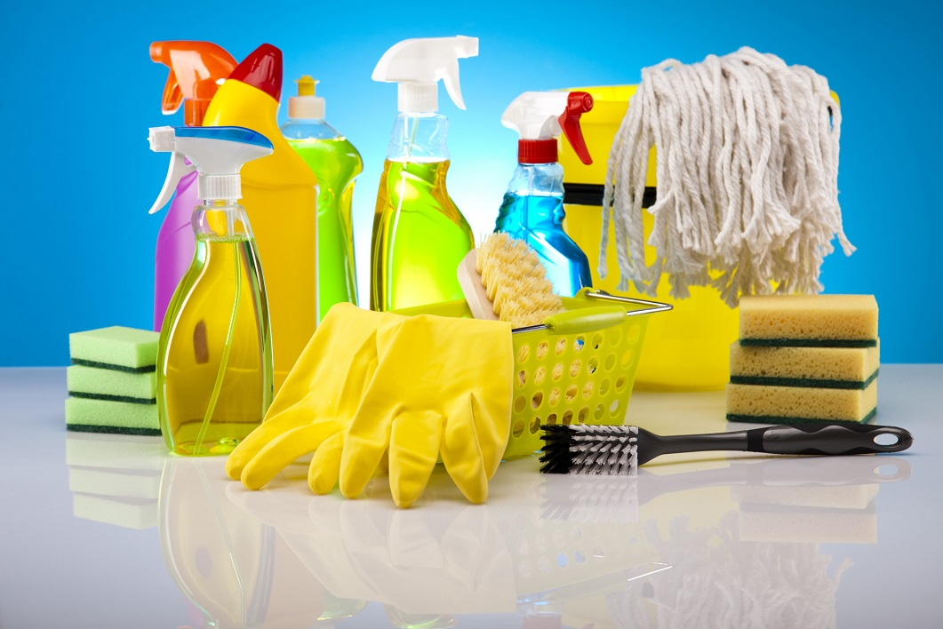 Cleaning supplies people need