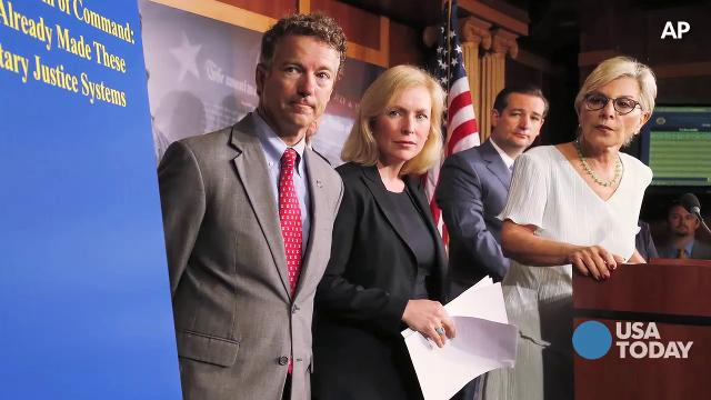 Gillibrand: Battle over military sexual assaults   Capital Download