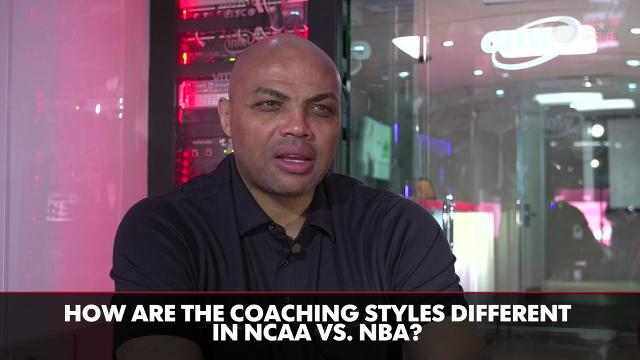 Charles Barkley dishes on college vs. pro game