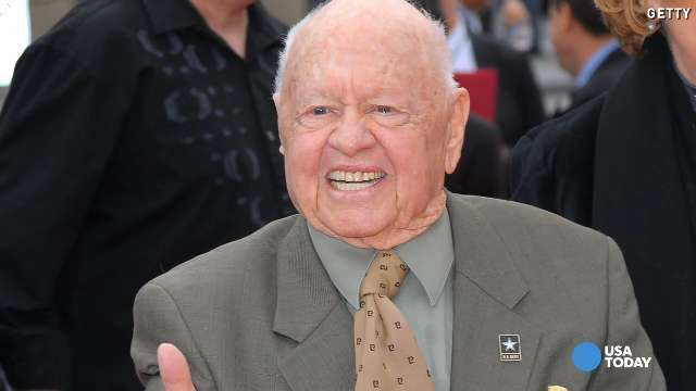 Mickey Rooney, man of many movies and marriages, dies