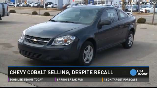 gm 39 s chevy cobalt still selling despite recall. Cars Review. Best American Auto & Cars Review