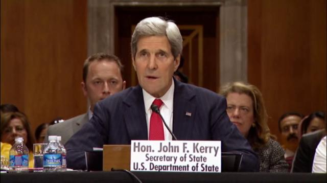 Kerry: Russia creating 'contrived crisis'