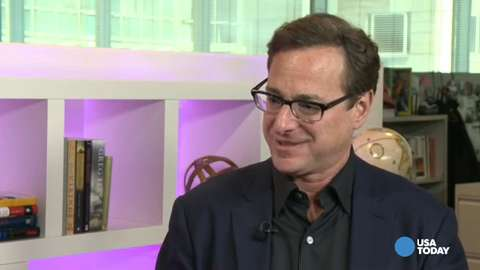 Bob Saget jokes about life as a 'dirty daddy'