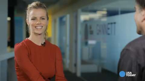 Brooklyn Decker pranks her friends with this phone app