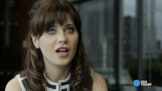 Zooey Deschanel's first big fashion splurge was...