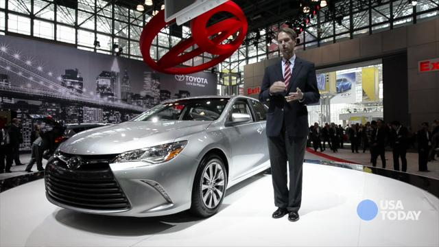 Toyota Camry gets a new grille and distinctive new looks