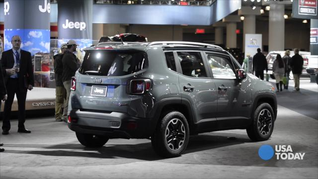 Jeep introducing new Renegade SUV