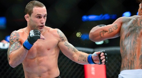 Catching up with Frankie Edgar