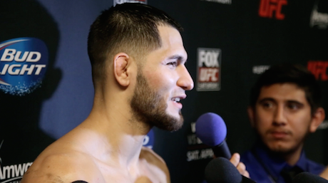 Jorge Masvidal speaks after his victory over Pat Healy in a unanimous decision at UFC on Fox 11.