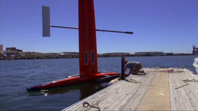 Ocean drones making waves in research world