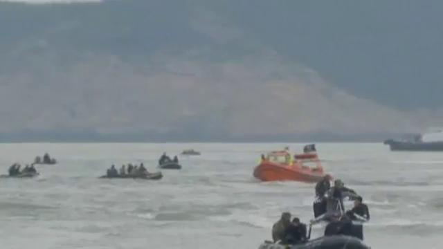 S .Korea president says conduct of ferry crew tantamount to murder