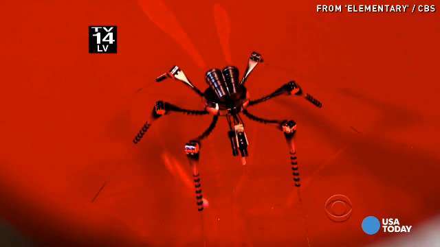 Critic's Corner: Insect sized drones on 'Elementary'?