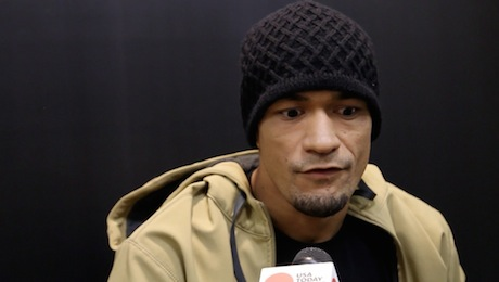Yancy Medeiros talks about UFC 172