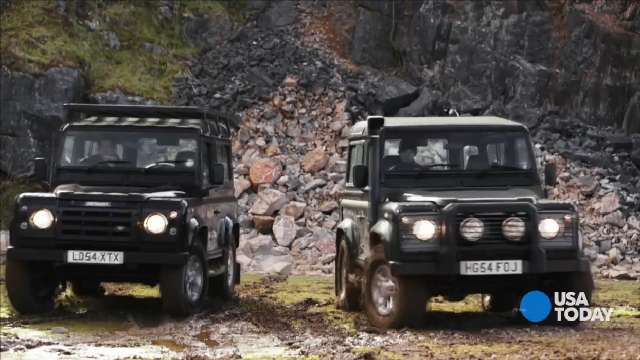 Making an old Land Rover Defender new again