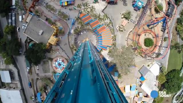 Ride the tallest freestanding drop tower in N. America