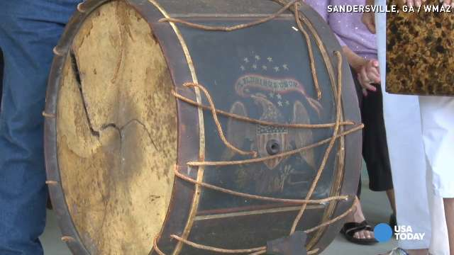 Civil War drum lost in battle finds Southern home