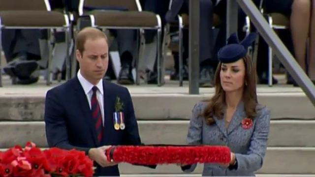 Will and Kate join Anzac day ceremonies in Australia