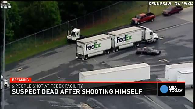 FedEx shooting witness had reported gunman days before