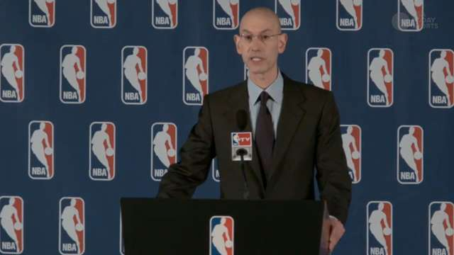 Adam Silver announces Donald Sterling ban from NBA