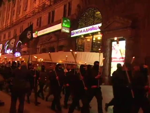 Clashes break out near Independence square in Kiev