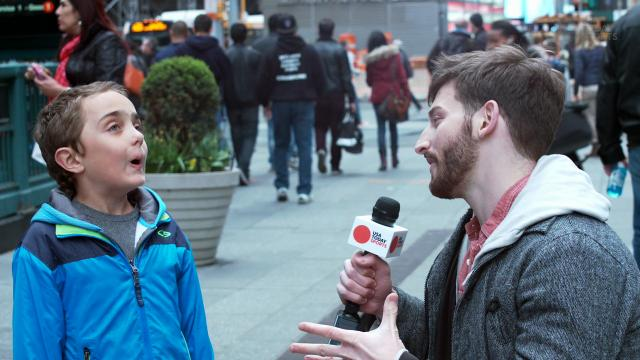 USA TODAY Sportss Dan Fogarty takes to the streets of NYC to see if people can tell the difference between a Derby horse name or an indie rock band.