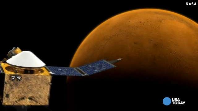 NASA reveals plans to travel to Mars