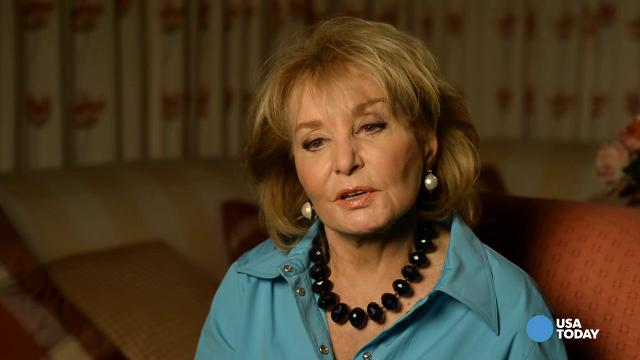 Former host of the view barbara walters is ready to take on her new