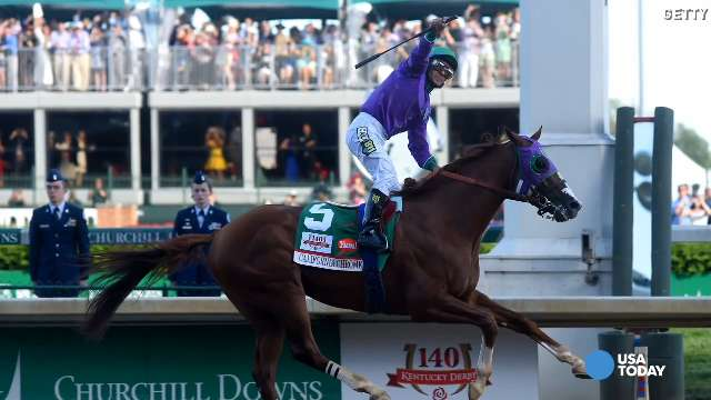 He became the first California-bred horse in 52 years to win the first leg of the Triple Crown, and he continued the fairy tale story of his 77-year-old trainer and the small-time owners who bred him with a total investment of $10,000.