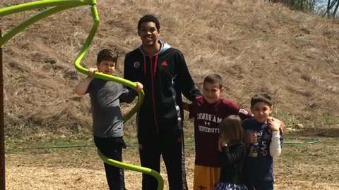 Kentucky commit Karl-Anthony Towns makes a special visit