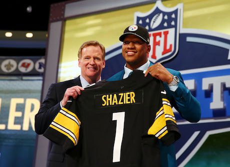 Ryan Shazier 'I'm on the best franchise