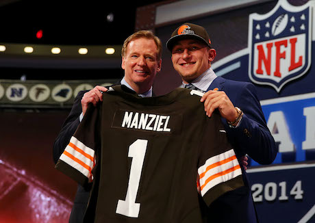 Johnny Manziel could become an instant star in Cleveland