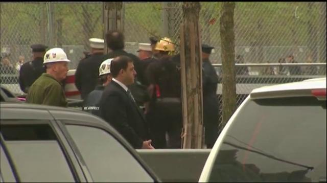 Raw: 9/11 remains returned to WTC site