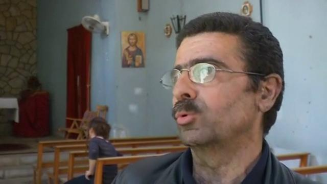 Death of a priest in old Homs