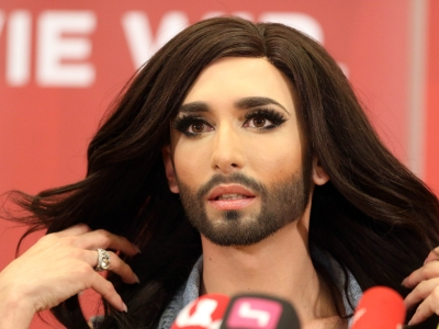 Bearded Eurovision winner causes controversy